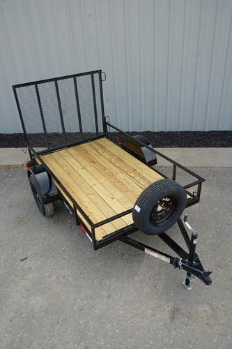 5x8 Workhorse Utility Trailer ***FREE Spare*** for sale in Ogden , UT