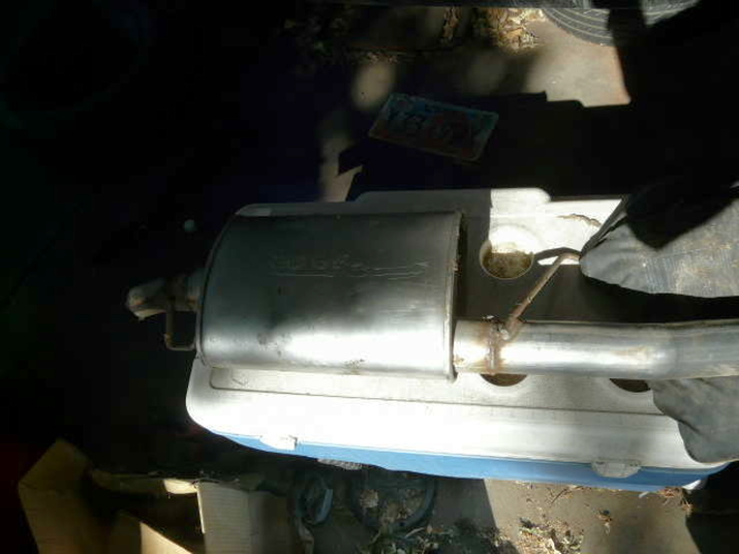LIKE NEW MUFFLER AND TAIL PIPE FROM 2000 JETTA for sale in Kaysville , UT