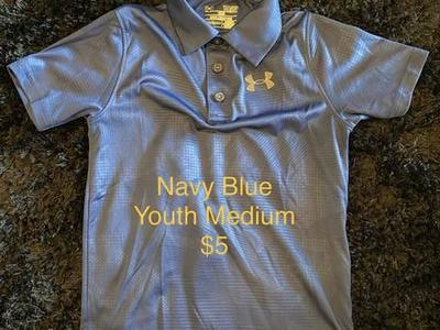 Kids Under Armour Polo Great Shape $5