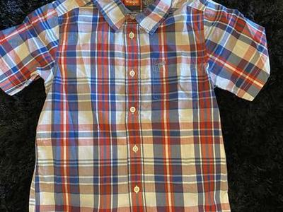 Kids Wrangler Button Up Size S(6/7) Great Shape $5