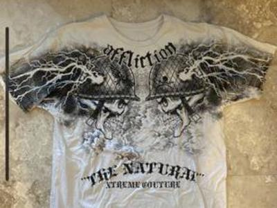Affliction Randy Couture T-Shirt XL $20