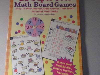 Brand New Homeschooling Books. (Math Board Game)