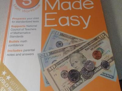 Brand New Homeschool Books. ( Math Made Easy 5th )