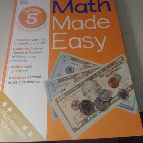 Brand New Homeschool Books. ( Math Made Easy 5th ) for sale in Provo , UT