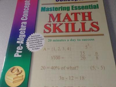 Brand New Homeschool Books. ( Pre-Algebra )