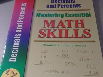 Brand New Homeschool Books( Decimals & Percentage)
