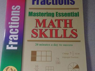 Brand New Homeschooling Books. (Fractions)