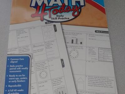 Brand New Homeschool Books( Common Core Math 3rd)