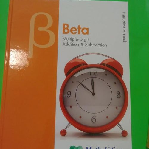 Brand New Math-U-See Beta Set for sale in Provo , UT