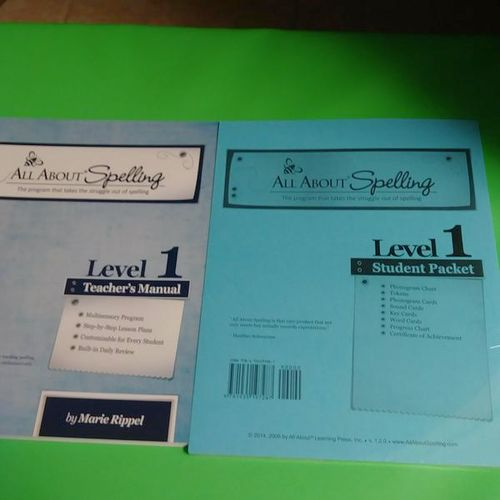 Brand New, All About Spelling Level 1 for sale in Provo , UT