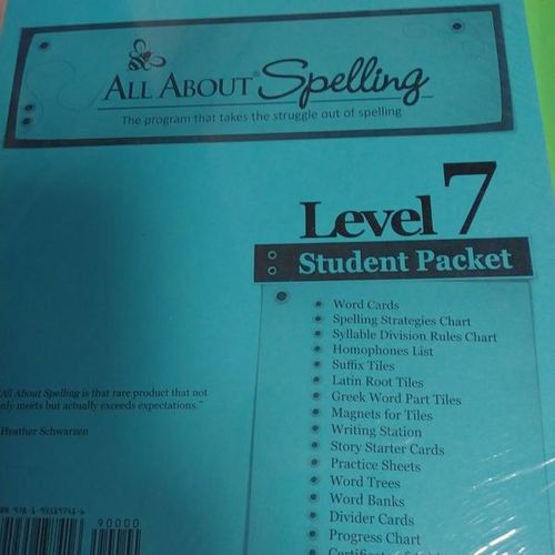 Brand New All About Spelling Level 7 for sale in Provo , UT