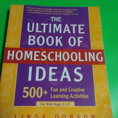 The Ultimate Book Of Homeschooling Ideas. for sale in Provo , UT