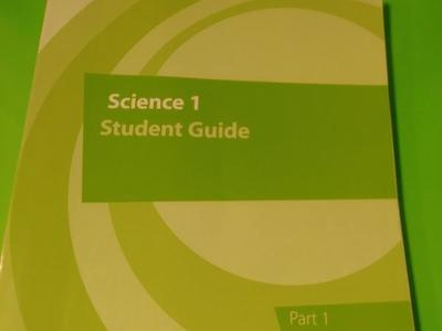 K12 science 1 student guide.