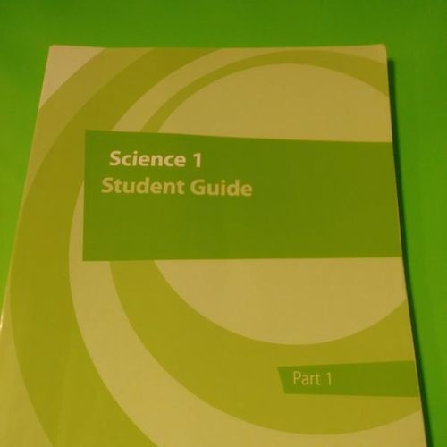 K12 science 1 student guide.  for sale in Provo , UT