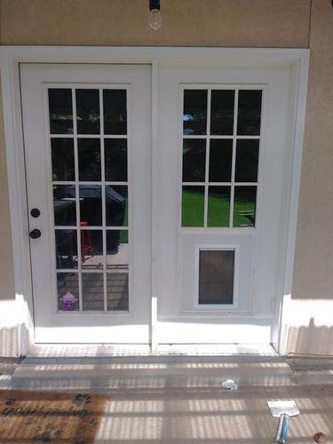 Dog/Pet door for french door installed 801-499-2726 for sale in Layton , UT
