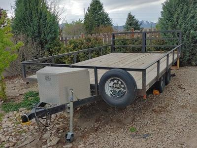 4 Place ATV trailer For Rent