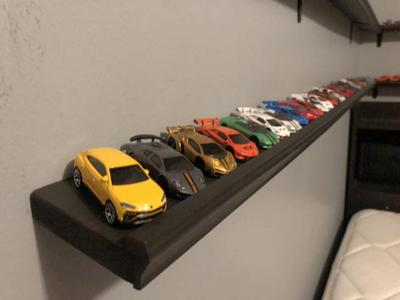 Hot Wheels / Matchbox Car Shelf (custom)
