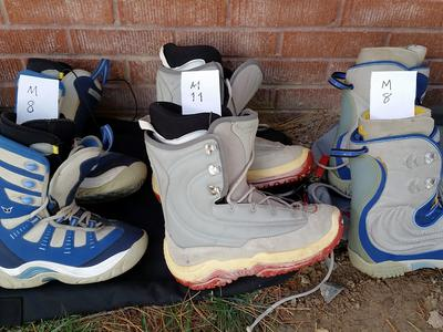 Snowboard Boots Mens, Womans, & Kids (All in Excellent Condition)