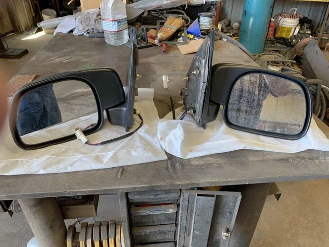 F250 Ford 1998 Power Mirror Set for sale in Evanston , WY