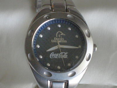 New Fossil Coca-Cola Men's Watch