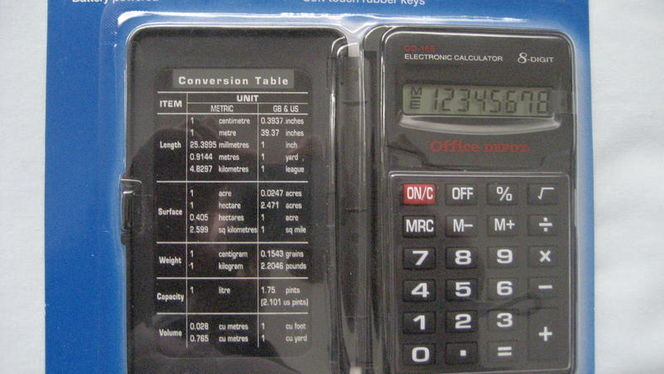 Office Depot® Brand 185 Folding Pocket Calculator for sale in West Valley City , UT