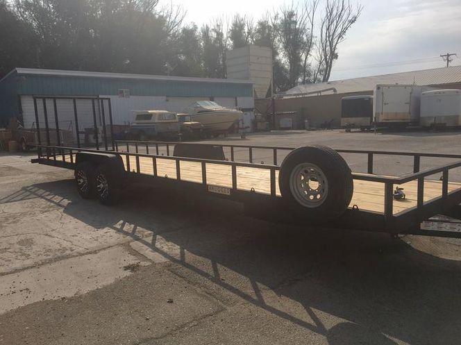 26 X 7 Custom Flat-Deck Utility Trailer FOR RENT for rent in Lindon , UT