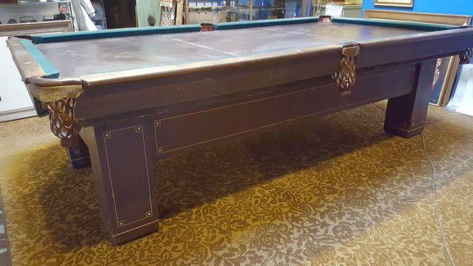 Antique Brunswick Balke Collender Pool Table 1912 for sale in Salt Lake City , UT