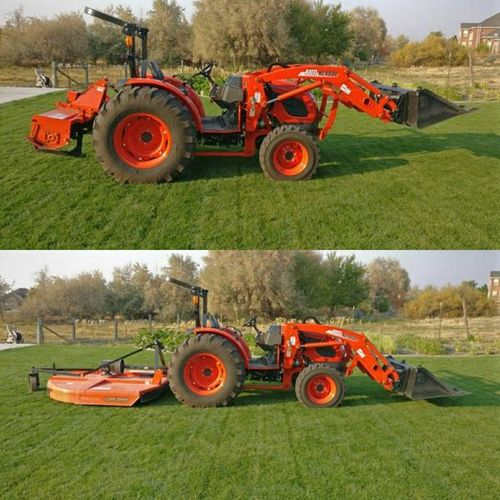 Tractor with Operator-landscaping, grading, till, land clearing/cleanup for rent in West Haven , UT