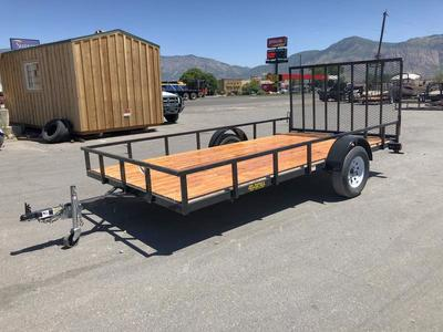 New Big Bubbas 7x14 with Gate & FREE SPARE TIRE