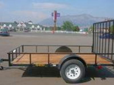 New Big Bubbas 5x8 with Gate & FREE SPARE TIRE