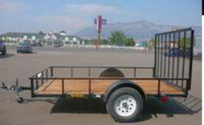 New Big Bubbas 5x8 with Gate & FREE SPARE TIRE for sale in Ogden , UT