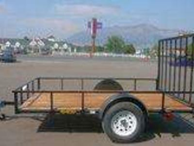 New Big Bubbas 6x10 with Gate & FREE SPARE TIRE