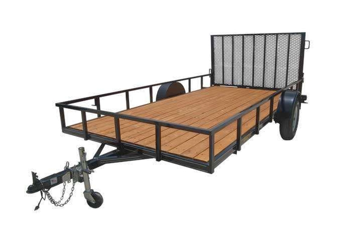 New Big Bubba's 6x14 with Gate and Free Spare Tire for sale in Ogden , UT