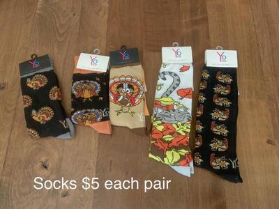 Thanksgiving Fall Socks Men's And Women's