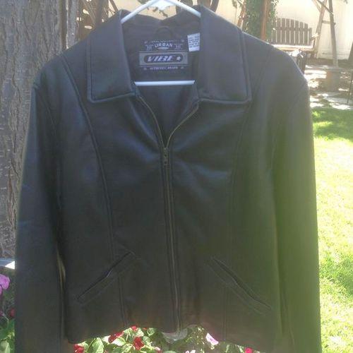 Polyurethane Black Ladies Medium Jacket for sale in Millcreek , UT