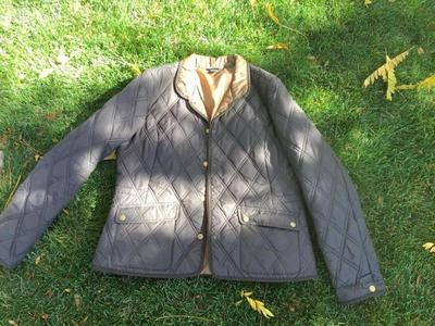 EDDIE BAUER BROWN QUILTED LARGE COAT