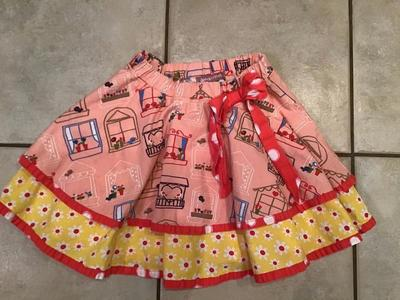 JELLY the PUG SKIRT ( size 6X)