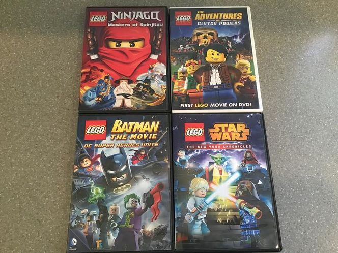 4 LEGO DVD'S for sale in Millcreek , UT