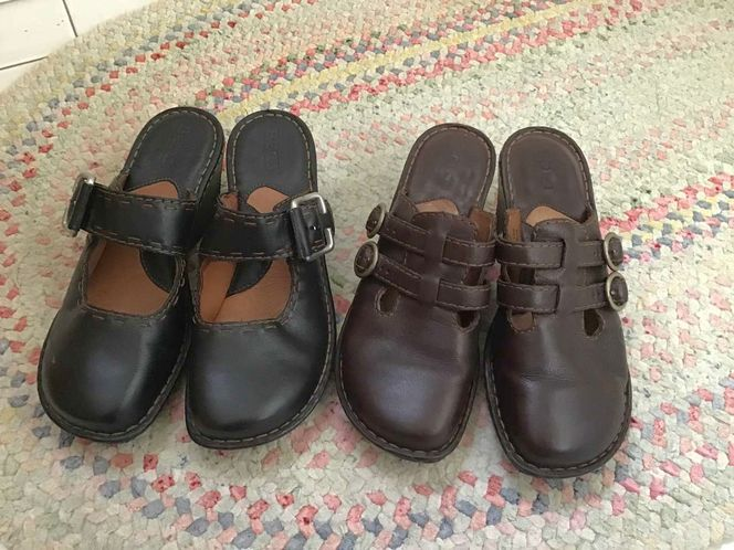 2 Pairs Of Born Shoes ( Size 8 ) for sale in Millcreek , UT