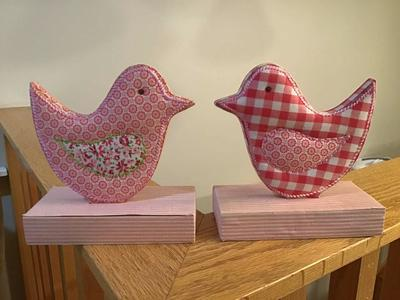 To fabric pottery barn kids bird bookends