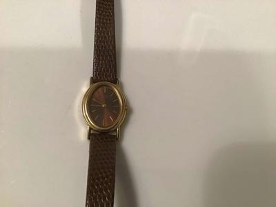 Vintage 80's Brown Seiko Quartz Watch