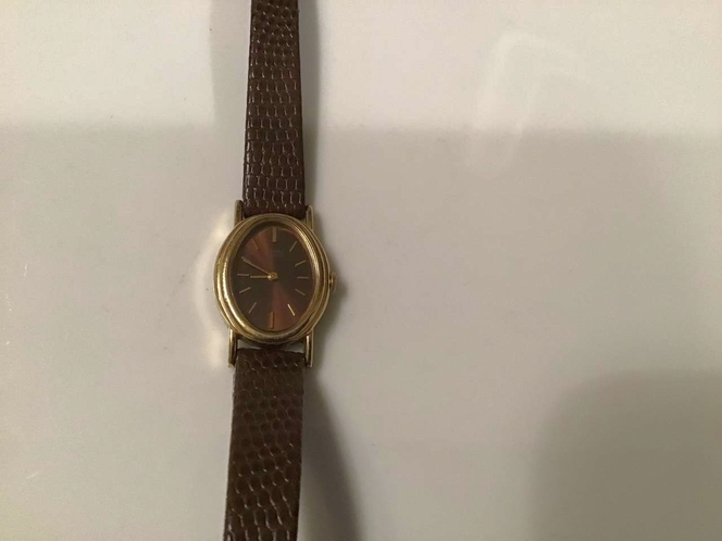 Vintage 80's Brown Seiko Quartz Watch for sale in Millcreek , UT
