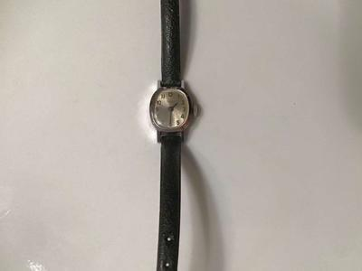Vintage Timex CHR Plated Bezel Watch