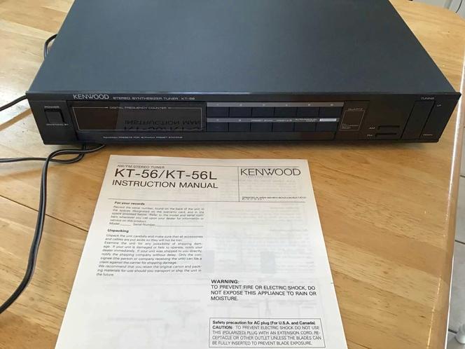 Vintage Kenwood synthesizer tuner KT -56 for sale in Millcreek , UT