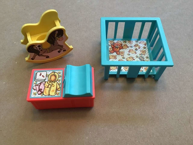 1972 Fisher Price Doll House Nursery Furniture for sale in Millcreek , UT