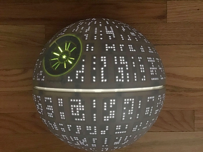 3D Light Star Wars Death Star LED Wall Light for sale in Millcreek , UT