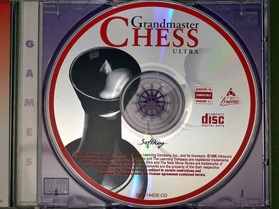 Ultra chess game software by The Learning Company