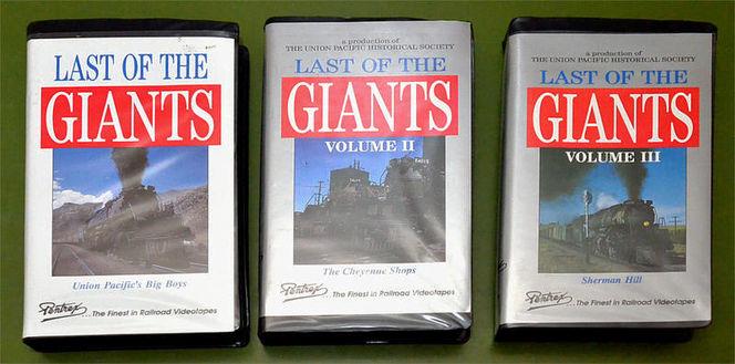 VHS tapes of the UP Big Boy locomotives for sale in Orem , UT