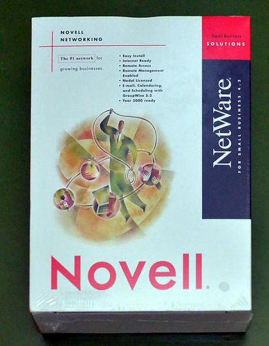 Novell Netware 4.2 for Small Business, 5 user for sale in Orem , UT