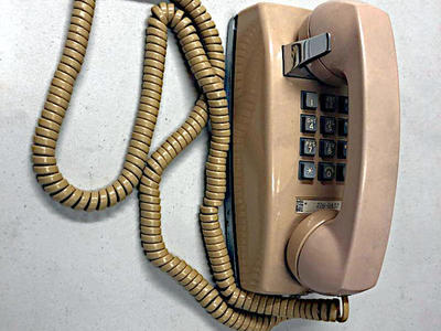 Vintage Western Electric Touch Tone wall telephone